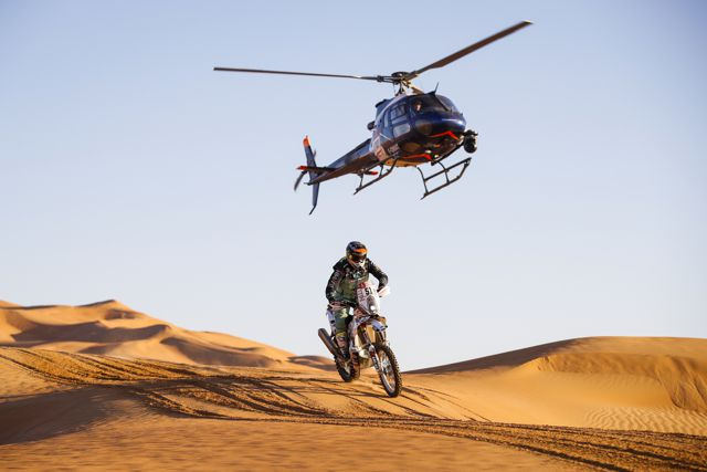 51 Cabrera Patrico (chl), KTM, Kawasaki Chile Cidef, Moto, Bike, action during Stage 11 of the Dakar 2020 between Shubaytah and Haradh, 744 km - SS 379 km, in Saudi Arabia, on January 16, 2020 - Photo Florent Gooden / DPPI