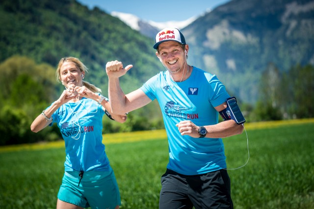 Thomas Morgenstern performs during the Wings for Life World Run App Run 2020 in Spittal an der Drau, Austria on May 3, 2020 // Philip Platzer for Wings for Life World Run // SI202005030137 // Usage for editorial use only //